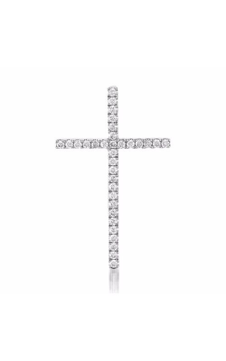 S Kashi & Sons Crosses Necklace P3144WG product image