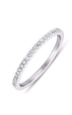 S Kashi & Sons Prong Set Wedding Band EN7400-BWG product image