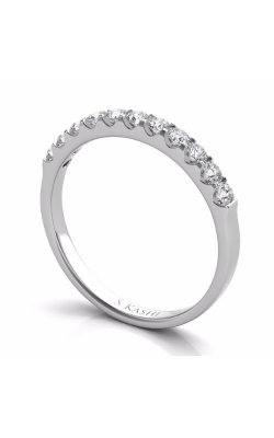S Kashi & Sons Prong Set Wedding Band EN6708-BWG product image