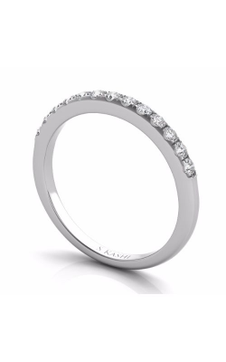 S Kashi & Sons Prong Set Wedding Band EN7195-BWG product image