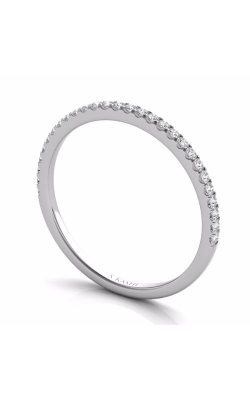 Deutsch & Deutsch Bridal Prong Set Wedding Band EN7508-BWG product image