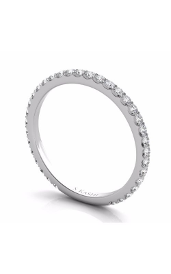 S Kashi & Sons Prong Set Wedding Band EN7285-BWG product image