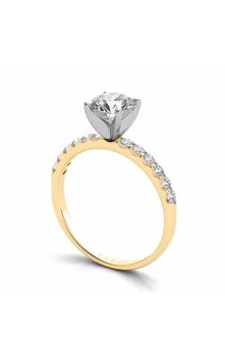 Deutsch & Deutsch Bridal Side Stone Engagement ring EN6593YG product image