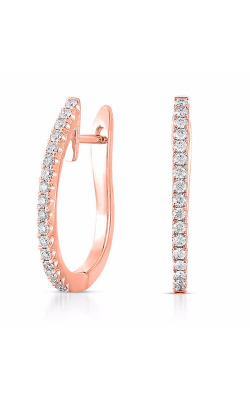 S Kashi & Sons Hoop Earrings E7721RG product image