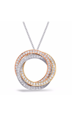 S. Kashi and Sons Circles Pendant P3225RWY product image