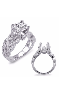 S. Kashi and Sons Braided Engagement Ring EN7627-1WG product image