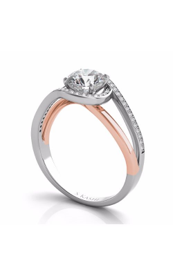 S. Kashi and Sons Bypass Engagement Ring EN7574-50RW product image
