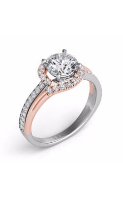 S. Kashi and Sons Bypass Engagement Ring EN7578-50RW product image