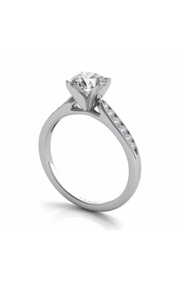 S. Kashi and Sons Channel Set Engagement Ring EN 134WG product image