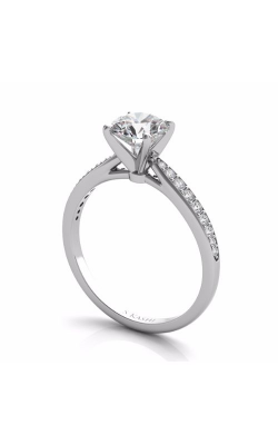 S. Kashi and Sons Channel Set Engagement Ring EN7347WG product image