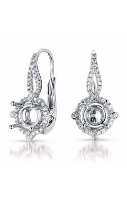 S. Kashi and Sons Halo Earrings E7792-1WG product image