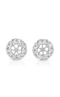 S. Kashi and Sons Halo Earrings E7855-50WG product image