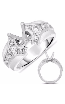 S. Kashi and Sons Channel Set Engagement Ring EN7619WG product image