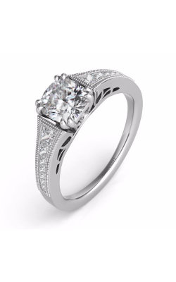 S. Kashi and Sons Channel Set Engagement Ring EN7232-1SQWG product image