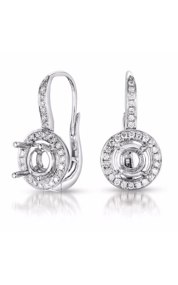 S. Kashi and Sons Halo Earrings E7793-1WG product image