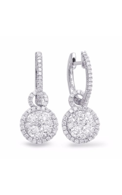 S. Kashi and Sons Fashion Earrings E7829WG product image