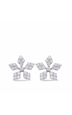 S. Kashi and Sons Fashion Earrings E7842WG product image
