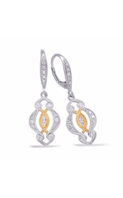 S. Kashi and Sons Fashion Earrings E7845YW product image