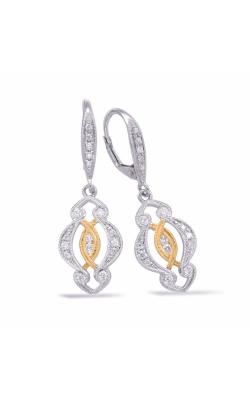 S Kashi & Sons Fashion Earrings E7845YW product image