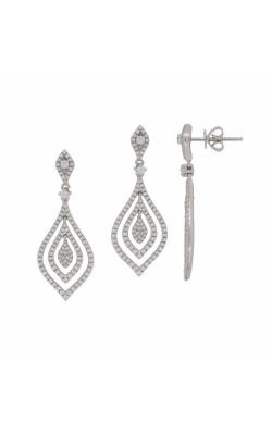 S. Kashi And Sons Fashion Earrings E7889WG product image