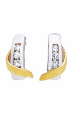 S. Kashi And Sons Fashion Earrings E7272WG product image