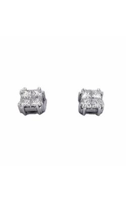 S. Kashi And Sons Fashion Earrings E7451WG product image
