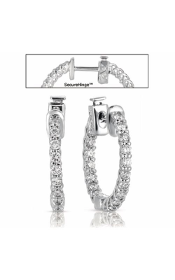 S Kashi & Sons Hoops Earring E7685WG product image