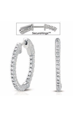 S. Kashi and Sons Hoop Earrings E7715WG product image