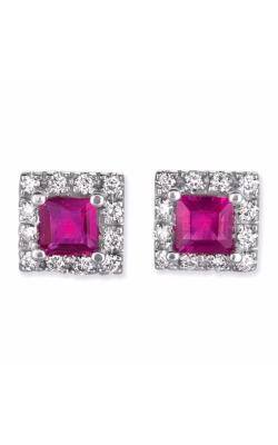 S Kashi & Sons Color Stone Earring E7659-RWG product image
