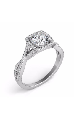 Deutsch & Deutsch Bridal Criss Cross Engagement ring EN7333-50WG product image