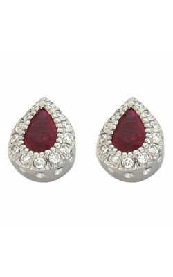 S Kashi & Sons Color Stone Earring E7381-RWG product image