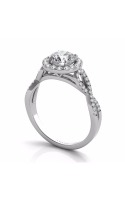 S Kashi & Sons Criss Cross Engagement ring EN7373-50WG product image