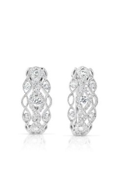S Kashi & Sons Huggies Earrings E7857WG product image