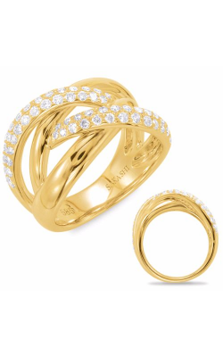 S. Kashi and Sons Diamond Fashion Ring D4418YG product image