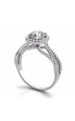 S. Kashi and Sons Cross Over Engagement Ring EN7577-75WG product image