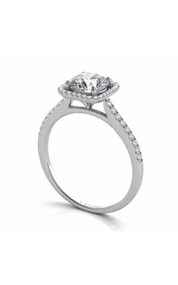 Deutsch & Deutsch Bridal Halo Engagement Ring EN7330-1WG product image