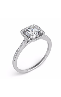 Deutsch & Deutsch Bridal Halo Engagement Ring EN7330-50WG product image