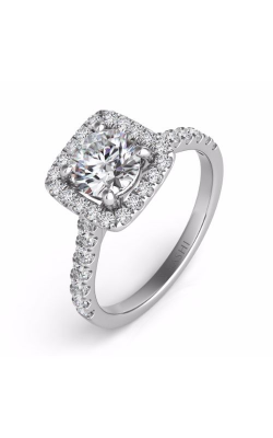 Deutsch & Deutsch Bridal Halo Engagement Ring EN7486-75WG product image