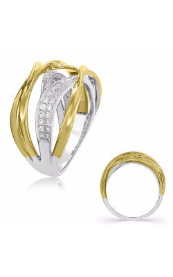 S Kashi & Sons Diamond Fashion Ring D4483YW product image