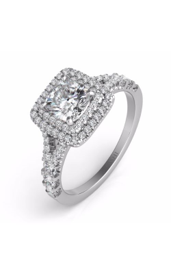 S. Kashi And Sons Halo Engagement Ring EN7445WG product image