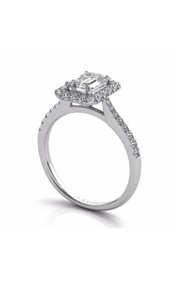 Deutsch & Deutsch Bridal Halo Engagement Ring EN7597-7X5MWG product image
