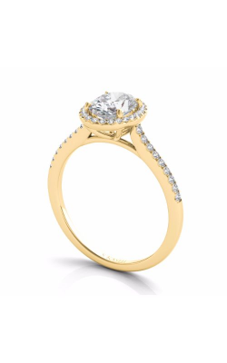 S Kashi & Sons Halo - Oval Engagement Ring EN7512-7X5MYG product image