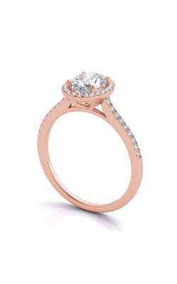 S Kashi & Sons Halo Engagement ring EN7512-7X5MRG product image