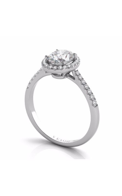Deutsch & Deutsch Bridal Halo Engagement Ring EN7543-7X5MWG product image