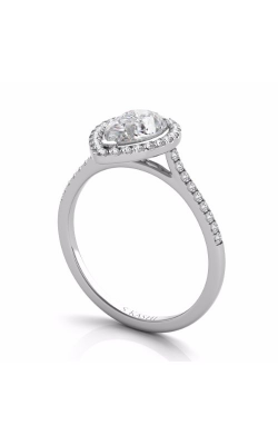 S Kashi & Sons Halo Engagement ring EN7519-7X5MWG product image