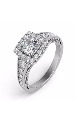 S. Kashi and Sons Halo Engagement Ring EN7499-5MWG product image