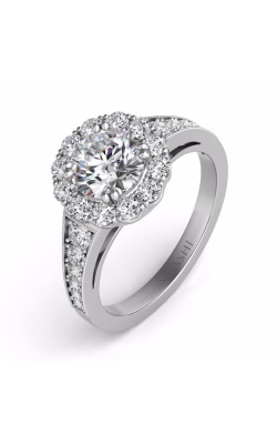 S Kashi & Sons Halo Engagement Ring EN7292-1RDWG product image