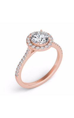S. Kashi and Sons Halo Engagement Ring EN7370-75RG product image