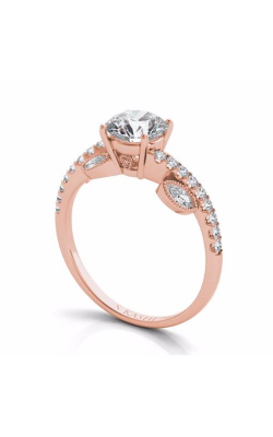 S. Kashi and Sons Side Stone Engagement Ring EN7522-1RG product image