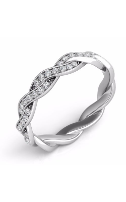 S. Kashi and Sons Braided Wedding Band EN7472-BWG product image